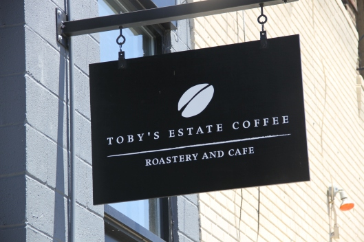 Toby's Estate Coffee, Williamsburg Brooklyn