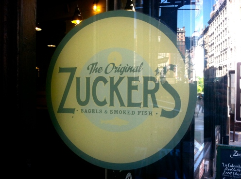 Zucker's Bagels and Smoked Fish, Chambers St, NYC Bagels
